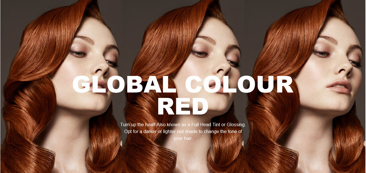 global menu red